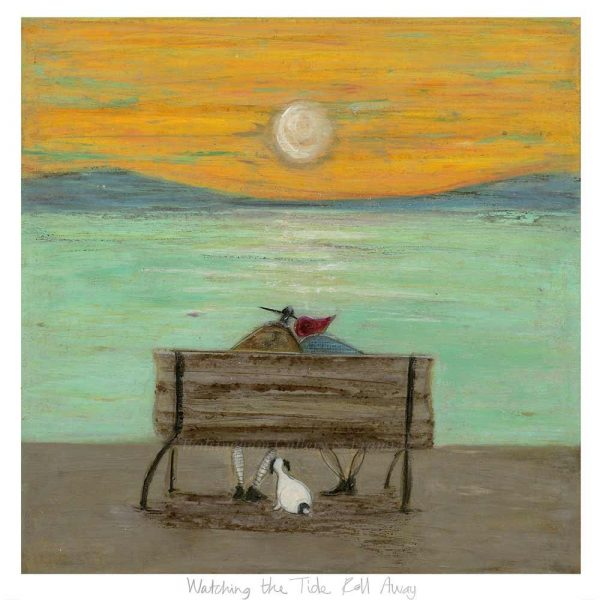 Limited edition print 'Watching the Tide Roll Away' by Sam Toft