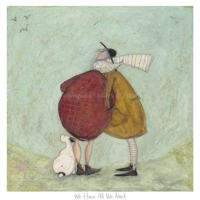 Limited edition print 'We Have All We Need' by Sam Toft