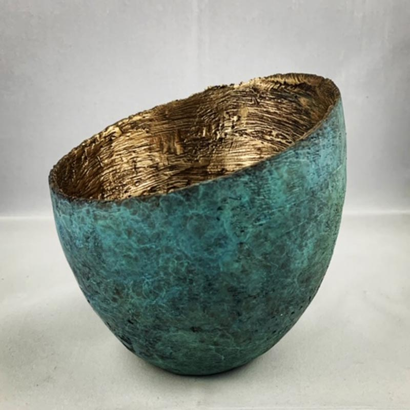Bronze vessel by John Mallett