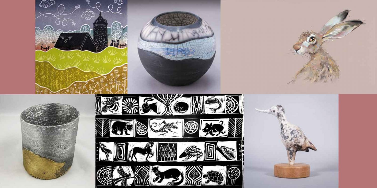 selection of artworks from summer exhibition
