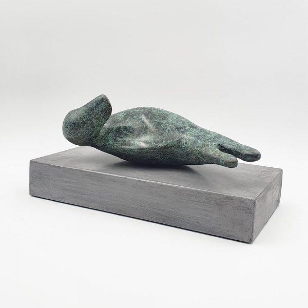 Bronze sculpture 'Seal' by Carol Pask