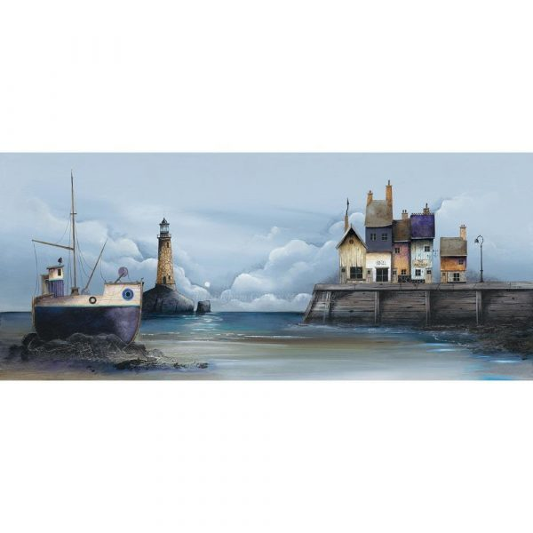 Limited edition print 'The Quayside' by Gary Walton