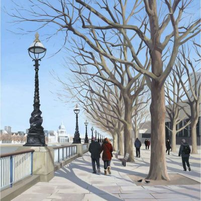 Limited edition print 'Embankment' by Jo Quigley