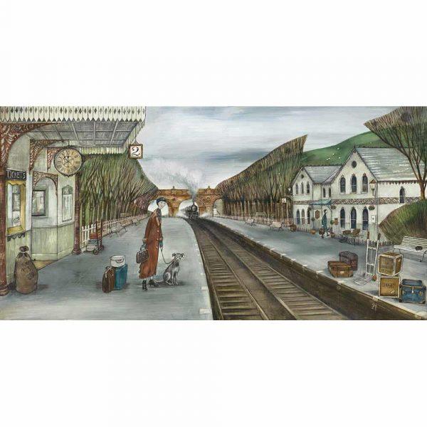 Limited edition print 'Rosehill Station' by Joe Ramm