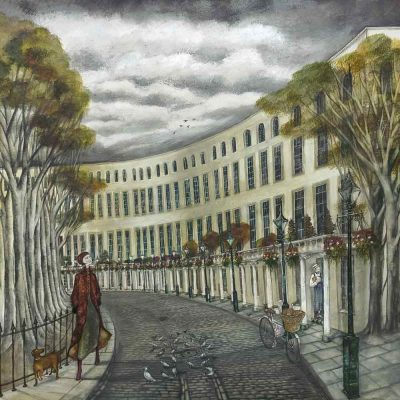 Limited edition print 'The Royal Crescent' by Joe Ramm