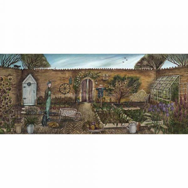 Limited edition print 'Walled Garden' by Joe Ramm