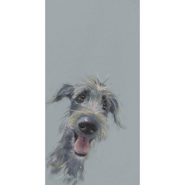 Limited edition print 'Scruffy Mutt' by Nicky Litchfield