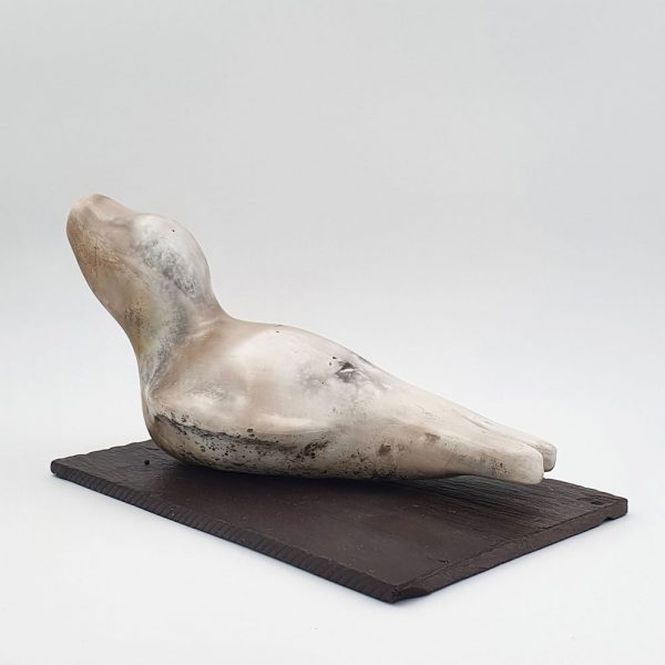 Ceramic sculpture 'Seal I' by Carol Pask