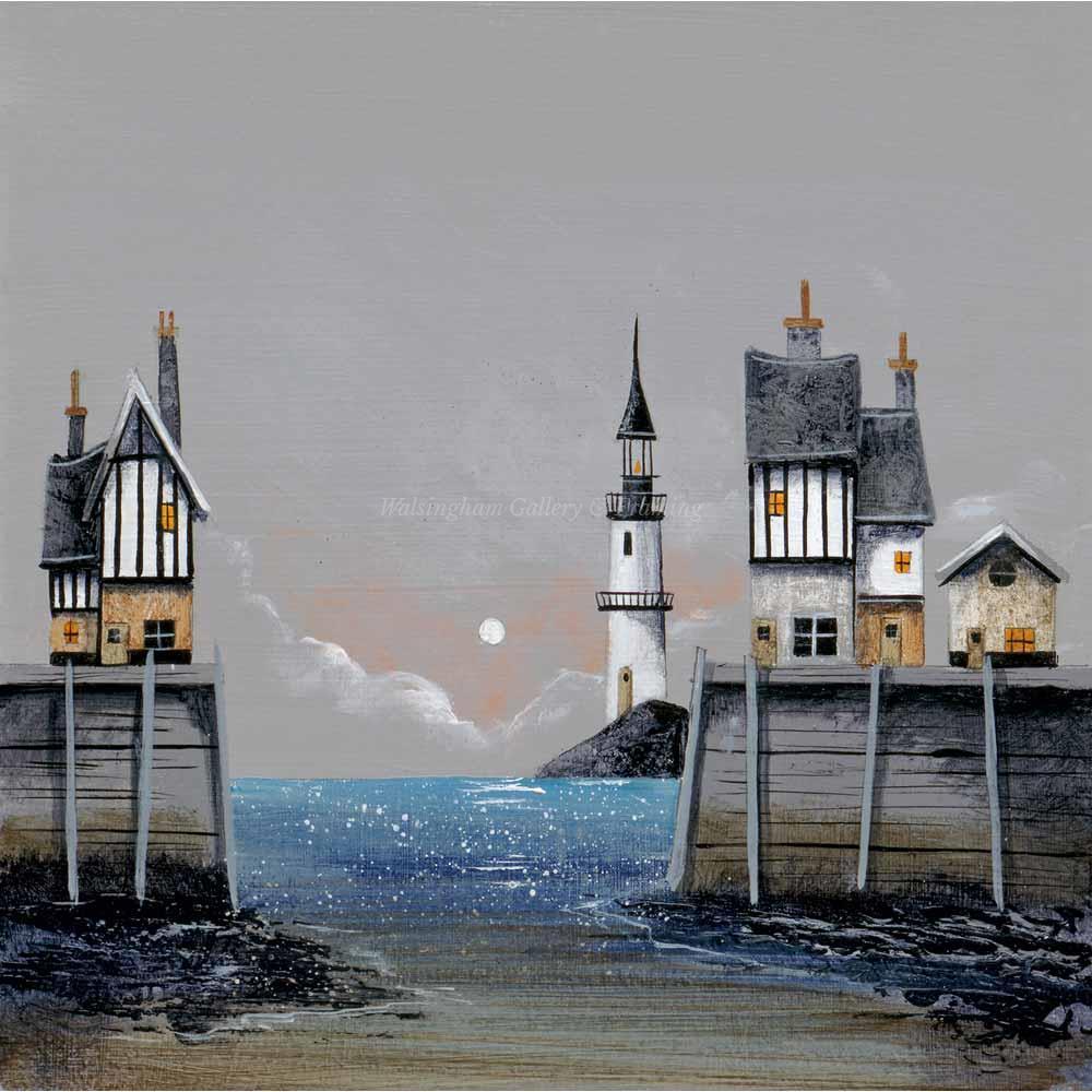Limited edition print 'Glittering Sea' by Gary Walton