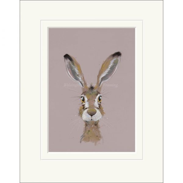 Mounted limited edition print 'Surprise' by Nicky Litchfield