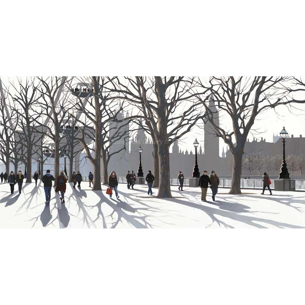 Limited edition print 'A View of Parliament' by Jo Quigley