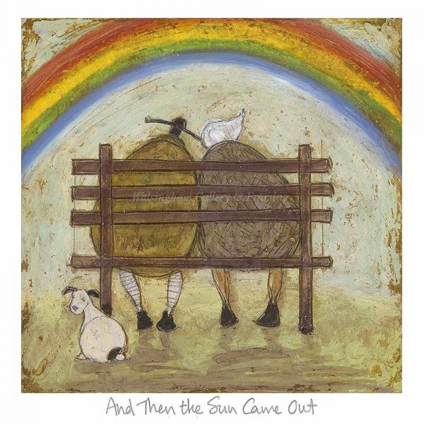 Limited edition print 'And Then the Sun Came Out' by Sam Toft