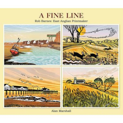 Book of Rob Barnes prints, 'A Fine Line' by Alan Marshall
