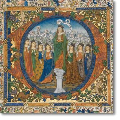 Christmas Card of 'The Coronation of Hope'