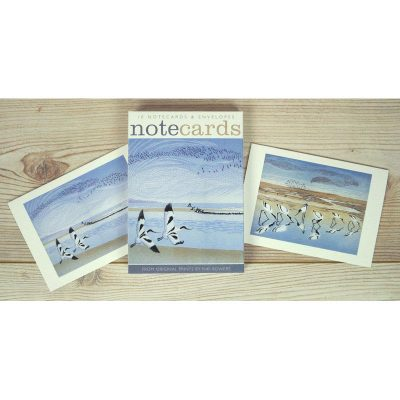 Notecards pack of 'Time and Tide & Tide Rising' by Niki Bowers