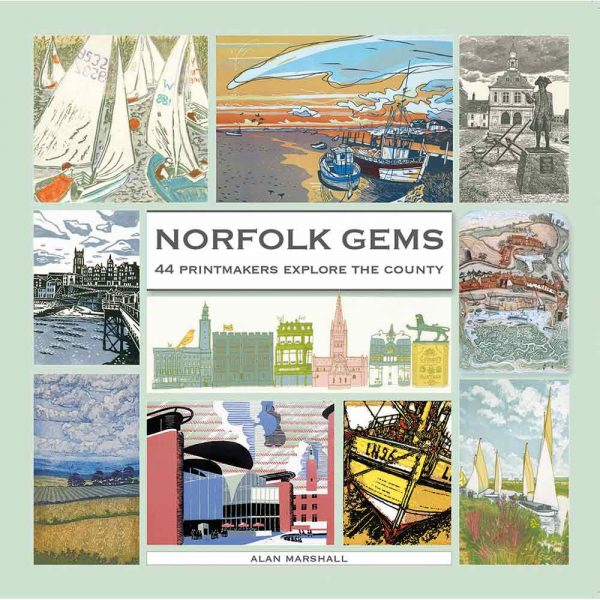 Book of prints, 'Norfolk Gems' by Alan Marshall