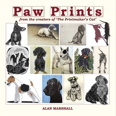 Book of prints, 'Paw Prints' by Alan Marshall