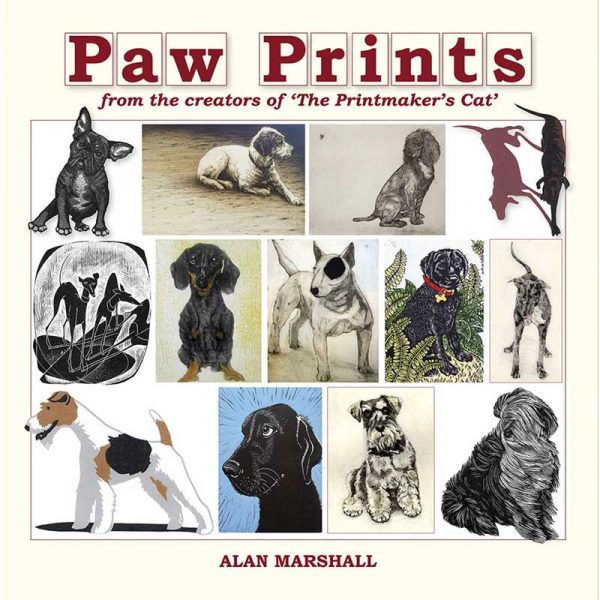 Book of prints, 'Paw Prints' by Alan Marshall