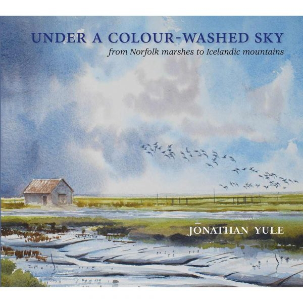 Book of artworks, 'Under A Colour-Washed Sky' by Jonathan Yule