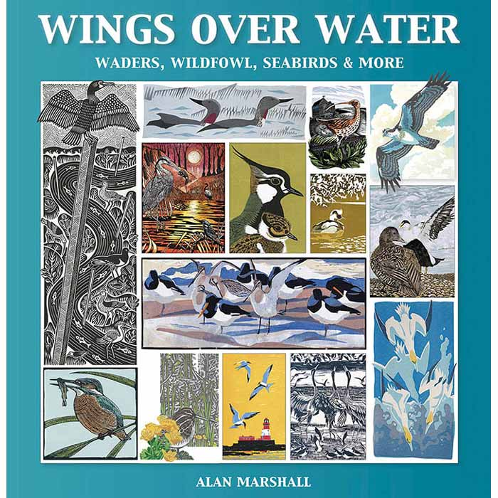 Book of prints, 'Wings Over Water' by Alan Marshall