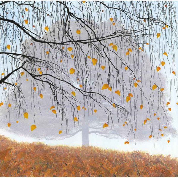 Limited edition print 'A Curtain of Gold' by Alan Godber